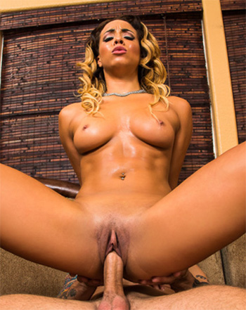 Ebony sex pics with Teanna Trump