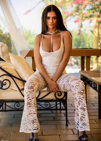 Sexy hot milf undresses