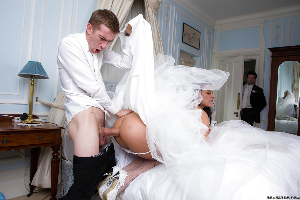First night of wedding porn anal on the night of her wedding
