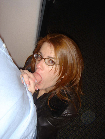 Naked redhead wife